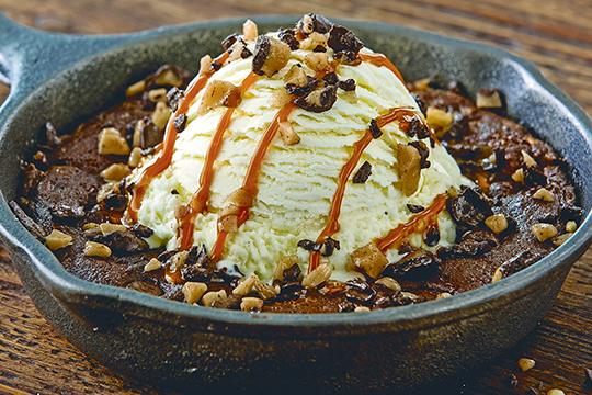 Toffee-Fudge-Brownie