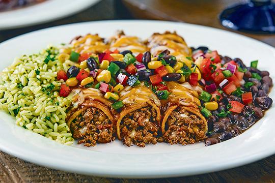 Beef-enchilada