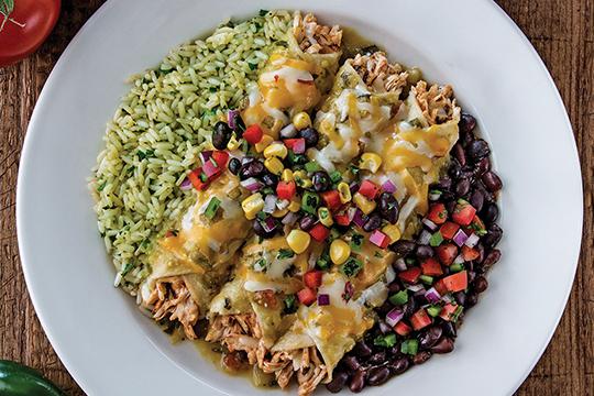 Chicken-Enchilada